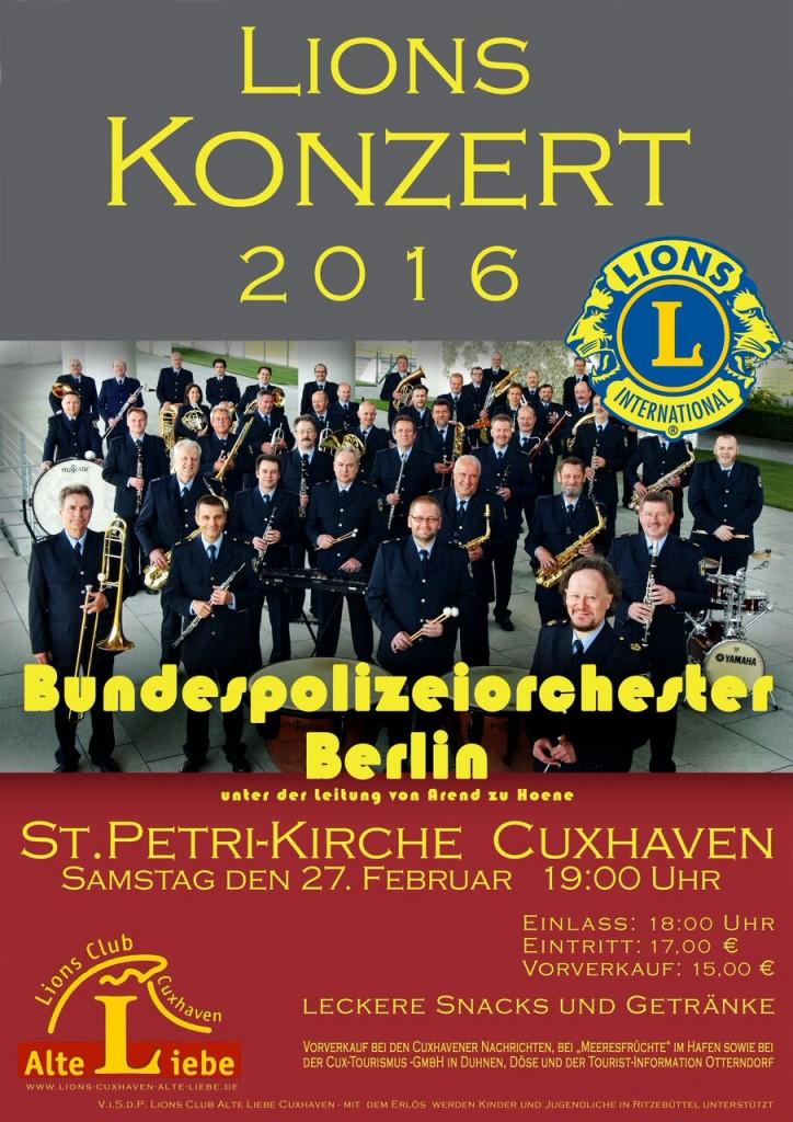 2016 Konzert-Plakat